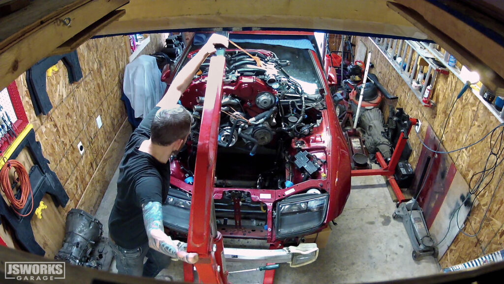 The Jsworks Garage Nissan 300ZX Z32 project.